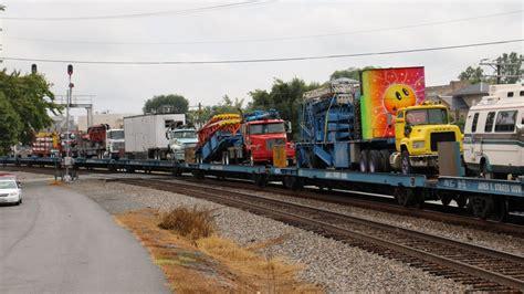 Orange Carnival Train