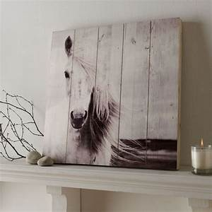 horse print on wood wall art grahambrownus With horse wall art