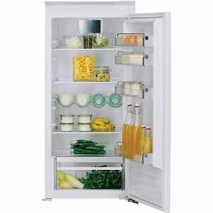 Refrigerateur Encastrable 122 Cm : r frig rateur 1 porte int grable 122 cm kcbnr 12600 site ~ Melissatoandfro.com Idées de Décoration