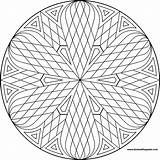 Mandala Mandalas Coloring Pages Simple Patterns Designs Printable Geometric Pattern Adult Lattice Don Paste Eat Transparent Donteatthepaste Sheets Para Op sketch template