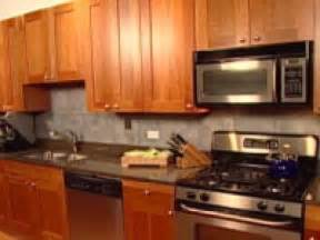 easy to install backsplashes for kitchens an easy backsplash made with vinyl tile hgtv