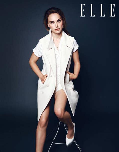Natalie Portman Covers Elle Moms Work Harder Than