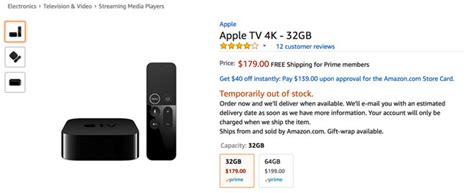 apple tv 4k sales resume at after two year block