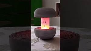 Nachttischlampe Selber Bauen : beton lampe selber bauen nachttisch lampe aus beton lampe gravur lampe aus beton cement ~ Markanthonyermac.com Haus und Dekorationen
