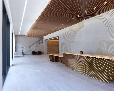 office spaces amazing cubicles with modern 12 inspiring reception desk designs