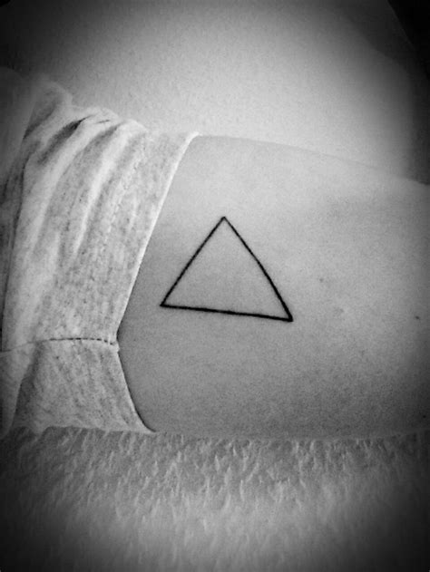 Triangle Tattoo Meaning (30) … | Pinteres…