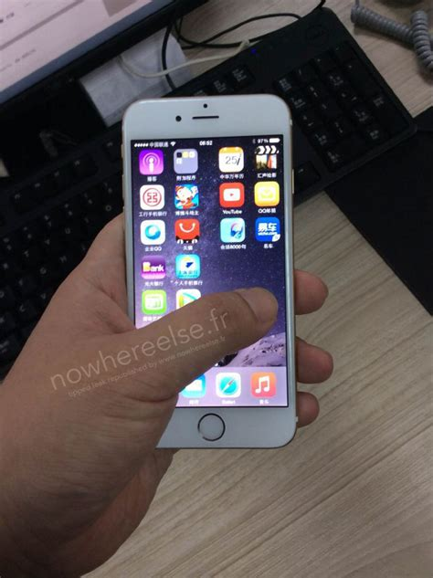 iphone 6 press photo gallery alleged gold iphone 6 photos leak just ahead of apple event