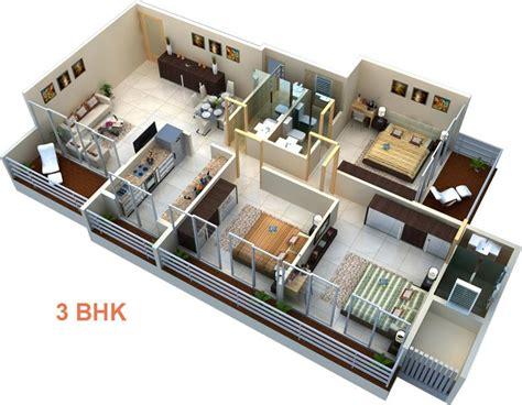 3 Bhk Flats For Sale In Dronagiri, Navi Mumbai  1623 Sq