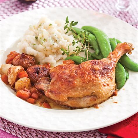 cuisine cuisse de canard cuisses de canard braisées aux figues recettes cuisine