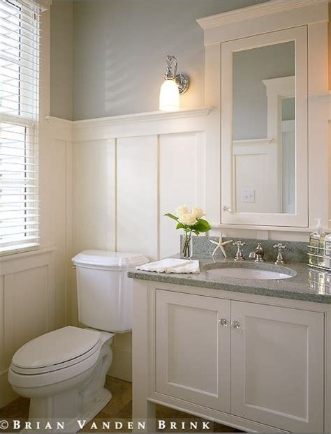 Bathroom Wainscotting by More Ways To Update A Bathroom Centsational Style