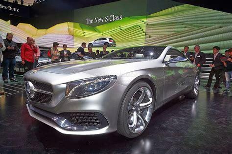 Mercedes Benz Concept S Class Coupe Live Photos