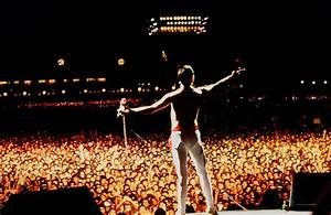 Freddie Mercury Rock In Rio 1985 Queen Photos