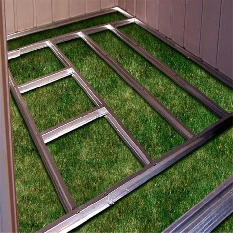 Arrow 10x14 Shed Floor Kit by Free Access How To Build A 10x12 Shed Foundation Wood Shed
