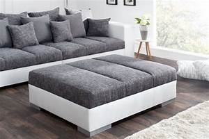 Big Sofa Mit Hocker : xxl sofa in einzigartigem design riess ~ Yasmunasinghe.com Haus und Dekorationen