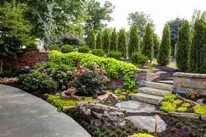 Gartengestaltung Mit Steinen : sch ne gartengestaltung mit steinen und kies ~ Watch28wear.com Haus und Dekorationen
