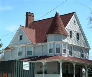 brick  shingle house