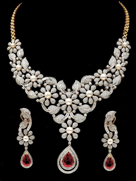 Fine Party  Bridal Wear Necklace + Earrings Set With Ruby. Princess Cut Emerald. Solid Emerald. Person Emerald. Isolated Emerald. Mingora Emerald. Buckle Ring Emerald. Little Finger Emerald. Prong Diamond Emerald