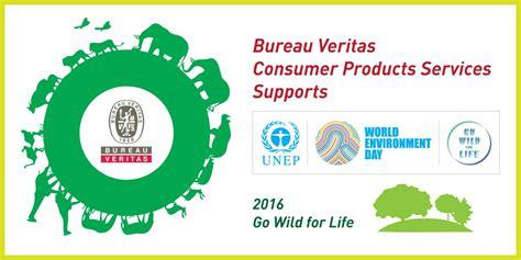 bureau veritas industrial services bureau veritas consumer products services supports environment day 2016