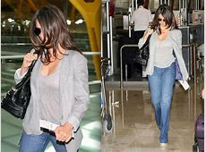 Celebrity Airport Style Penelope Cruz Celebrity Airport