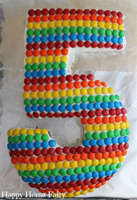 number  cake happy home fairy