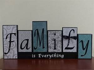personalized family name decorative block letters sign With personalized block letters