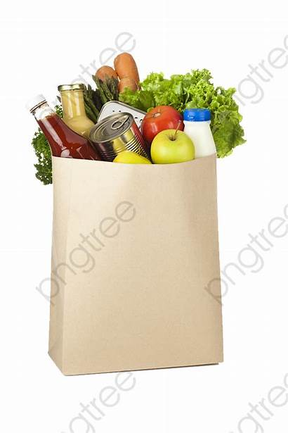 Bag Groceries Paper Shopping Brown Supermercado Backdrop