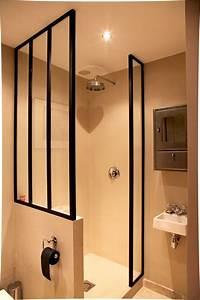 Salle De Bain Idée Déco : idee deco salle de bain douche italienne estein design ~ Dailycaller-alerts.com Idées de Décoration