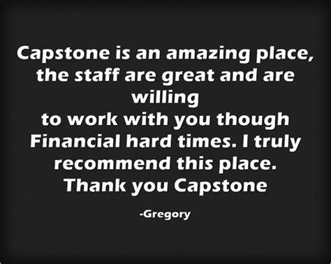 testimonials capstone counseling centers