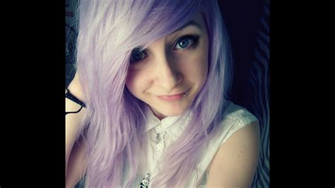 How To Lilac Hair Pastel Purple Youtube