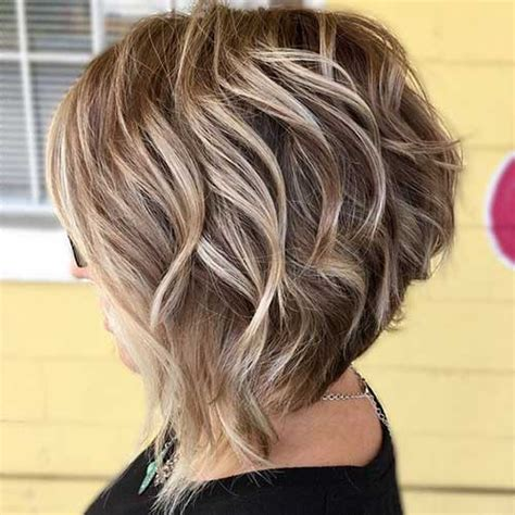 flattering layered short haircuts for thick hair crazyforus