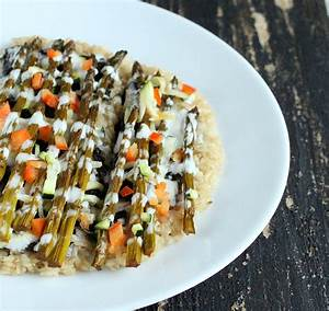 Sushi Pizza - Brown Rice Crust with Nori, braised ...