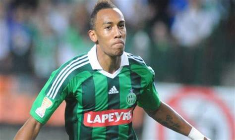 Aubameyang treble maintains St Etienne hot streak - Africa ...
