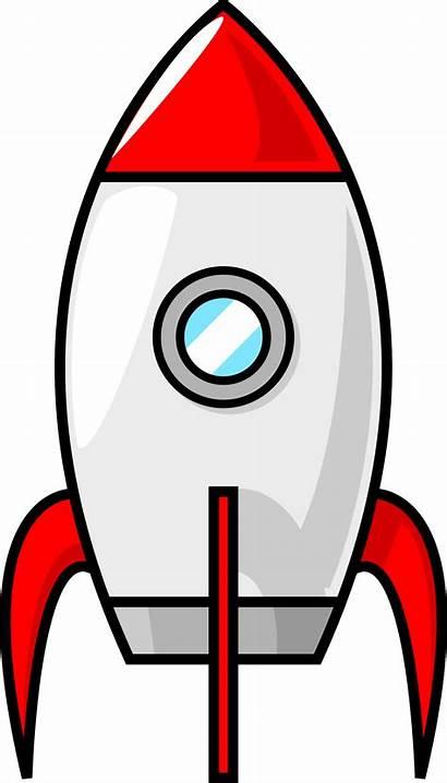 Rocket Clip Outline Cartoon Moon Clipart Clipground