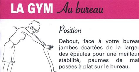 exercices au bureau pas le temps de faire du sport nos exercices au bureau