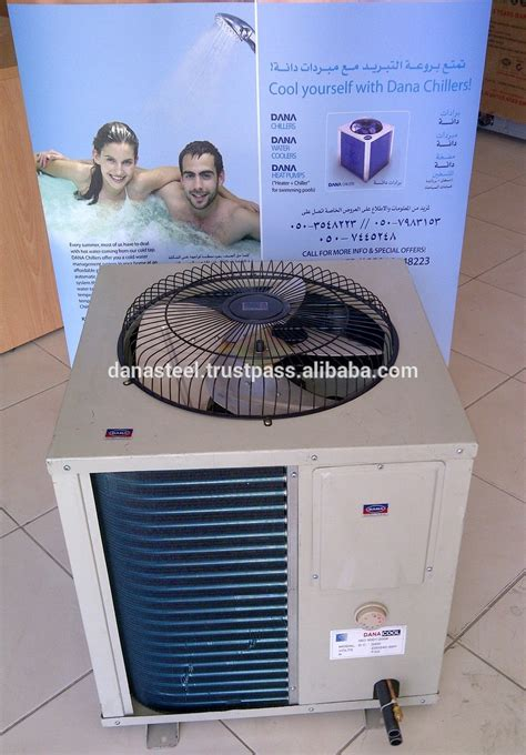 Oman Water Cooling System Chiller For Tank Home Villa Camp