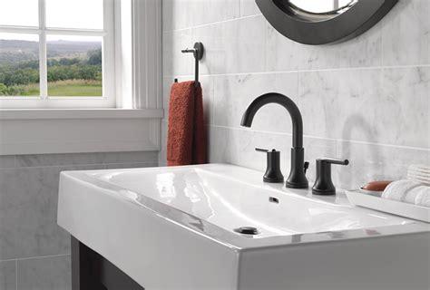 matte black style   bathroom