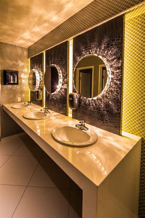bar bathroom ideas parq restaurant nightclub davis ink toilets