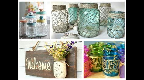 mason jar crafts inspiration diy room decoration ideas
