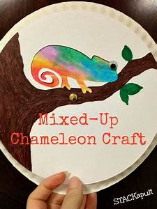 25+ Best Ideas about Chameleon Craft on Pinterest   Jungle ...