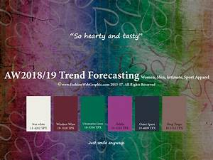 Trendfarben Winter 2018 2019 : autumn winter 2018 2019 trend forecasting is a trend color guide that offer seasonal inspiration ~ Orissabook.com Haus und Dekorationen