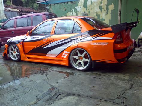 Lancer Evo 4 Modifikasi by Kumpulan Modifikasi Mobil Mitsubishi Lancer Evolution