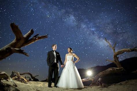 gorgeous long exposure wedding photography shot
