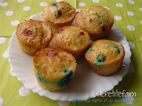 miam maman cuisine muffins aux m m 39 s et au fromage blanc une faim