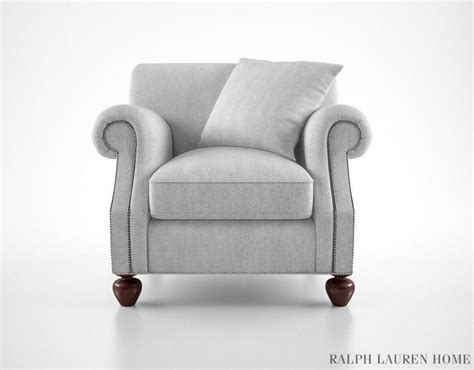 Ralph Lauren Edwardian Armchair 3d Model Max Obj Fbx Mtl