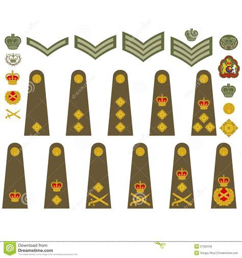 Or Ranks British Army British Military Insignia Badges Recherche Google