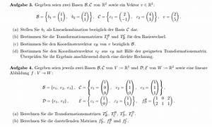 Matrizen Berechnen : matrix darstellende matrizen berechnen was muss ich bei 3 und 4b machen mathelounge ~ Themetempest.com Abrechnung