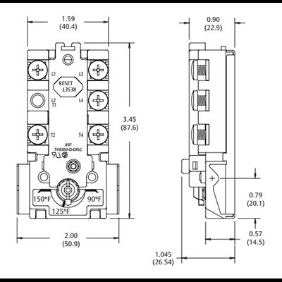 electric water thermostat 43 77 deg c for dual