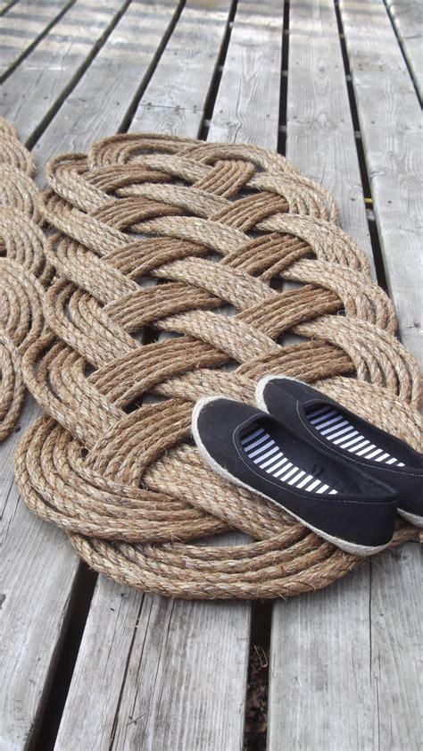 nautical doormat and runner rope rug