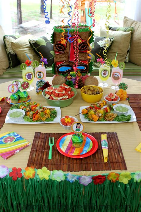 Hawaiian Luau Party Ideas Recipes Foodfashco