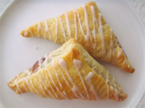 apple raspberry turnovers baked  joanna
